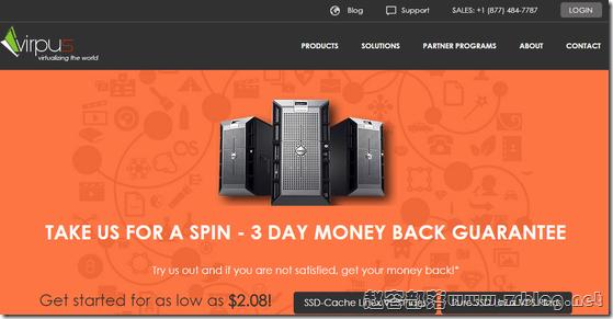 VIRPUS:$3.5/月XEN-512MB/15G SSD/1.5TB 西雅图