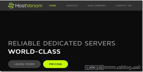HostVenom:$7/月KVM-1GB/25G SSD/2TB芝加哥