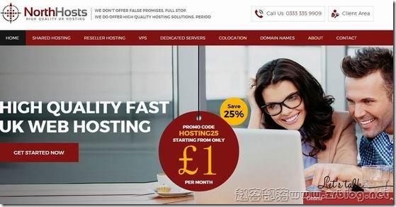 NorthHosts:£10/年OpenVZ-1GB/50GB/2TB 英国