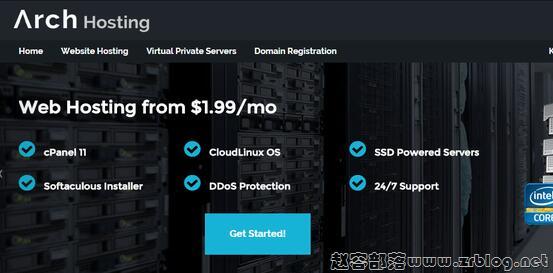 ArchHosting:$13.5/年OpenVZ-512MB/10GB/250GB 北卡