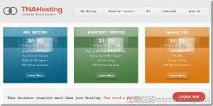 TNAHosting:$5/月OpenVZ-6GB/200GB/2TB 芝加哥